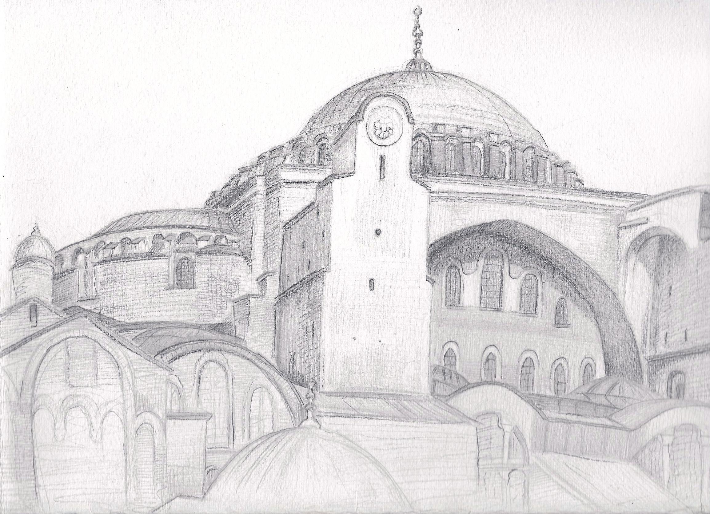 Hagia Sophia | Mavi Lale